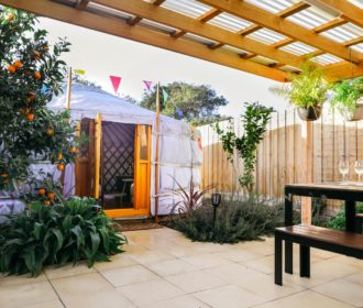 Yurt Hideaway Accommodation, Glamping Mornington Peninsula